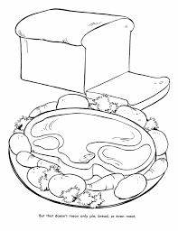 Small Picture Thanksgiving Feast Coloring Pages Coloring Home