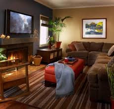 extra large rugs under brown corner sofa color decoration for simple family room with tv over fireplace ideas cozy family room furniture r15 cozy