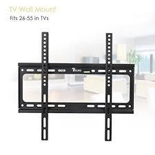 telmu tv wall mount tv bracket stand