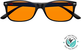 Traffic Light Glass Lenses For Sale Swannies Blue Light Blocking Computer Glasses With Orange Lens For Night Use Uv Protection Anti Eye Strain Tired Eye Relief Black Regular