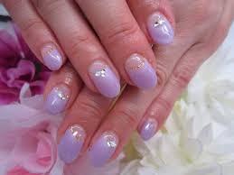画像 短い爪にもかわいいシンプルななめフレンチネイル Naver