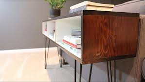 mid century modern furniture. Beautiful Century Build A Mid Century Modern Sofa Table DIYwithRick Within Diy Plan 15 Throughout Furniture I