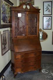 traditional secretary desk with hutch for your furniture ideas traditional wood secretary desk with hutch