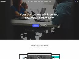 Bootstrap Website Boomerang Bootstrap 4 Business Corporate Theme Bootstrap Themes