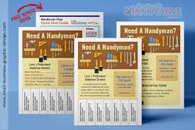 i need flyers made fast best handyman flyers for sale