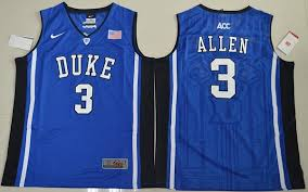 Allen Jersey Ncaa Neck Stitched For Devils Blue Cheap Grayson Sale 3 V Elite Basketball