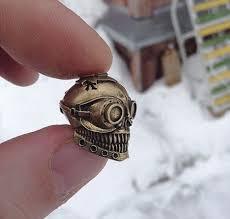 <b>Бусина Для Темляка Steampunk</b> Skull, Подарки, Сувениры ...