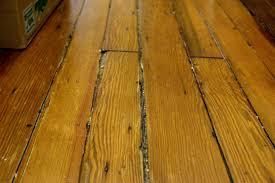 old hardwood floors splintering