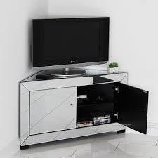 stylish corner tv stands for flat screens home decor insights