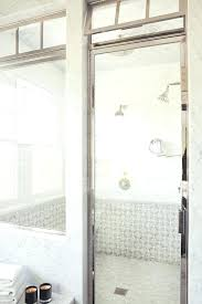 cost of glass shower door shower door cost bathroom transitional with mosaic tile marble tile best