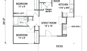 small cottage floor plans by small cottage house plans under 1000 sq ft