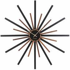 karlsson diva large wood wall clock