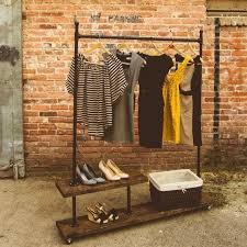 diy pipe clothes rack pipe wood garment rack google search diy pipe clothing rack with shelf diy pipe clothes rack