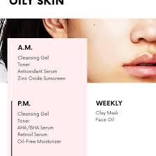 oily skin skincare routine