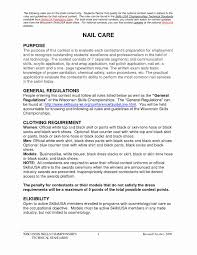 Skillsusa Resume Beautiful Nail Technician Resume Example Examples