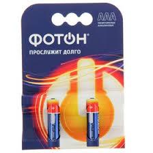 "<b>Батарейка</b> алкалиновая ""<b>Фотон</b>"", <b>AAA</b>, <b>LR03</b>-2BL, 1.5В, блистер ..."