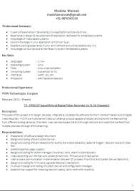 Different Resume Format Types Of Resume Formats Different Types Of Resumes Elegant Resume