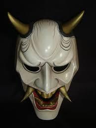 Japanese Demon Mask Google Search Masks Japanese Mask Oni