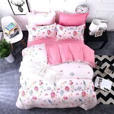 duvet covers twin extra long duvet covers king white romantic pink white flower bedding sets girls