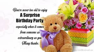 Thank You Friends For The Surprise Birthday Party Images Quotes