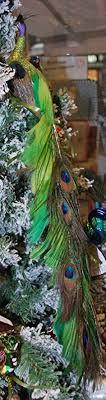 Pfau Fancy Peacock Von Inge Glas Christbaumschmuck Amazon