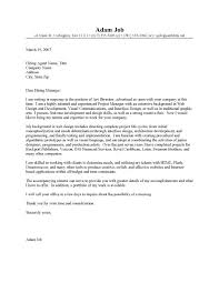 Cover Letter Example Creative Director Paulkmaloney Com