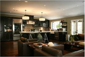 Interior Designs For Kitchen And Living Room Kitchen And Living Room Open Concept Images Outofhome