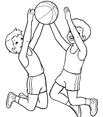 basketball coloring book pages basketball coloring book pages free printable of players basketball free printable coloring