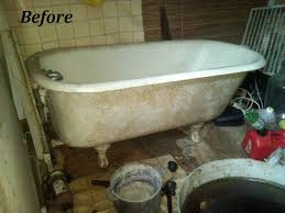 refinishing the porcelain tub sinks bottle that fixed