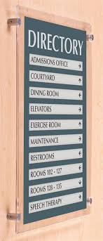 standoff 18 x 24 sign frame includes mounting hardware