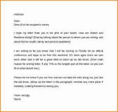 Letter Format Sample Friendly Cialisnets Info