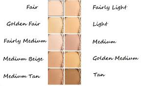 Bareminerals Original Foundation Colour Chart Bare Minerals Loose Original Foundation Spf 15 Loose Powder