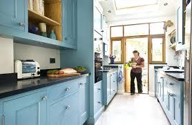 galley kitchen cabinets galley kitchen design ideas uk