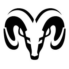 dodge ram hemi logo. silver dodge ram logo clipart hemi