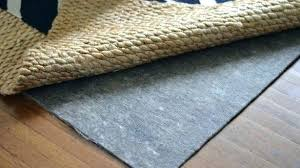 are natural rubber rug pads safe for hardwood floors non slip rug pad rug