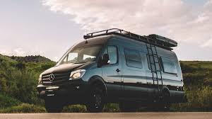this custom camper van can sleep a family of 6