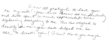 Email Or Handwritten Thank You Note After Interview Best Moment