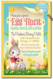 Whimsical Easter Egg Hunt Invitations Easter In 2019