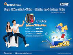 DongA Bank triển khai ưu đãi cho khách hàng khi nạp tiền điện thoại online  - VNPAY