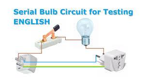 How To Test A Light Bulb Serial Bulb Circuit Lamp For Short Circuit Test Short Circuits Protection For Workbench