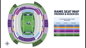 New Chargers Stadium Seating Chart Rams New Stadium Ssl Pricing Released Losangelesrams