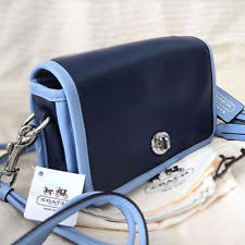 item 5 NWT COACH LEGACY Navy Blue Leather Penny Crossbody Swing Swingpack  Bag NEW -NWT COACH LEGACY Navy Blue Leather Penny Crossbody Swing Swingpack  Bag ...