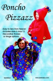 Fleece Poncho Pattern With Hood Inspiration Sew Baby Poncho Pizzazz Pattern By Sewbaby