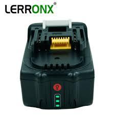 18V 6000mAh BL1860 <b>Li</b>-<b>ion</b> аккумуляторная батарея для ...