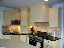 shaker cabinet crown molding kitchen cabinets installation remodeling company installing white