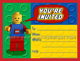 make your own birthday invitations free printable lego birthday invitations make homemade invites
