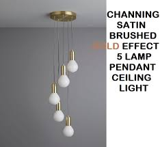 channing satin brushed gold effect 5