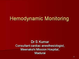 Hemodynamic Monitoring Dr Sk Authorstream
