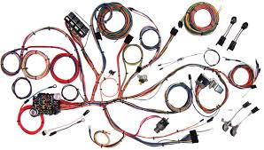 american autowire 1964 66 mustang classic update wiring kit one process