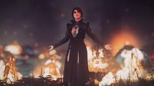 йеннифэр трисс и цири из ведьмак 3 полностью изменили внешность